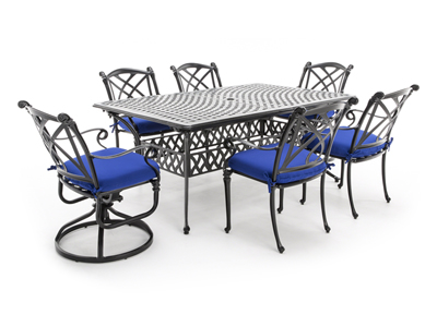 Cassidy 7-pc. Rectangular Patio Set