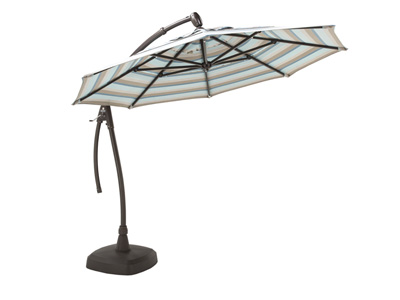 Gateway Mist 2-pc. 11' Cantilever Patio Umbrella