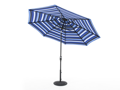 Milano Cobalt 3-pc. 9' Patio Umbrella