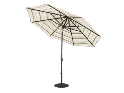 Latte Stripe 3-pc. 9' Patio Umbrella