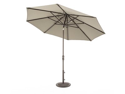 Taupe 2-pc. 9' Patio Umbrella