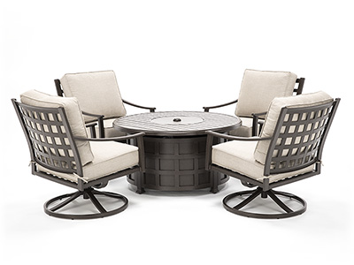 Summit 5-pc. Firepit Chat Set