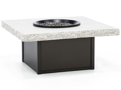 Magneta Shadow Rock Fire Pit