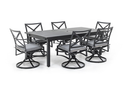Monte Carloe 7-pc. Patio Dining Set