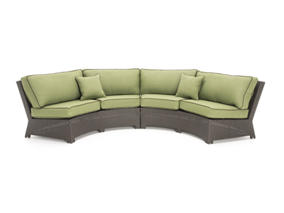 Cabo Cilantro 2-pc. Patio Contour Sofa
