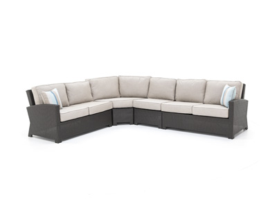 Cabo 4-pc. Cast Ash Sectional