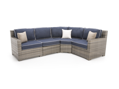 Malibu 4-pc. Wedge Sectional