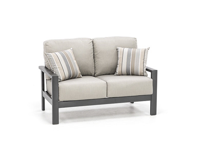 Elements Loveseat with Pillows