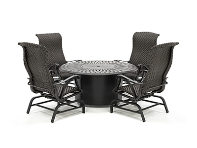 San Tropez 5-pc. Firepit Set