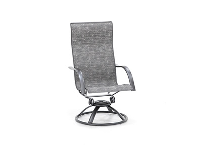 Stella Highback Swivel Rocker Sling Chair
