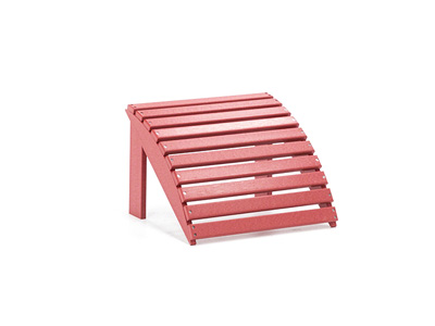 Footstool in Red