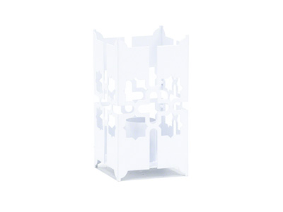Tamara Large Fire Lantern -  White