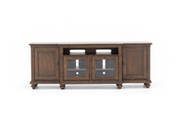 "Oxford Whiskey Brown 86"" Entertainment Console"