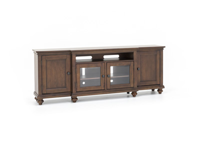 "Oxford Whiskey Brown 86"" Console"