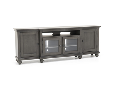 "Oxford Peppercorn 86"" Entertainment Console"