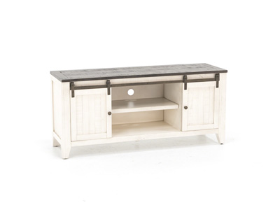 "Madison County Two Tone 60"" Entertainment Console"