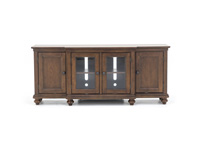 "Oxford Whiskey Brown 75"" Console"