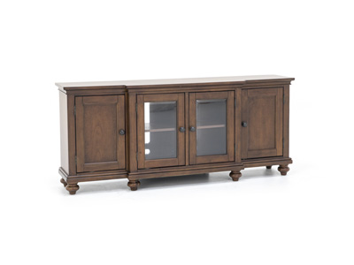 "Oxford Whiskey Brown 75"" Entertainment Console"