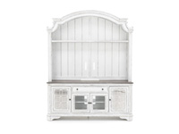 Magnolia Manor Entertainment Stand & Hutch