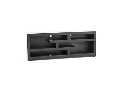 "Avery Loft Ghost Black 72"" Console"