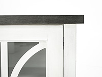 "Bailey 60"" White Entertainment Console"