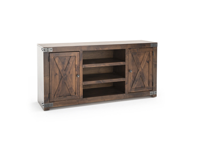 "Farmhouse Fruitwood 60"" Entertainment Console"