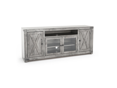 "Farmhouse 72"" Smokey Grey Console"