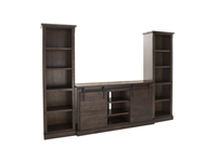 "Rustic Chocolate 65"" Entertainment Console"