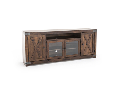 "Farmhouse Fruitwood 72"" Entertainment Console"