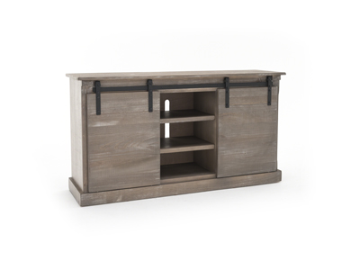 Mountain Smoke Barn Door Console