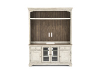 "Morgan Creek 68"" TV Console and Hutch"