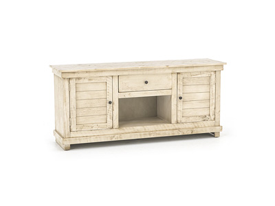 "Villa Collection 60"" Eggshell Entertainment Console"