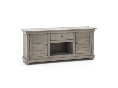 "Villa Collection 60"" Gray Entertainment Console"