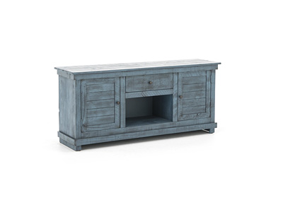 "Villa Collection Blue 60"" Entertainment Console"