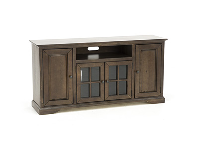 "Hamilton 64"" Auburn Cherry Entertainment Console"