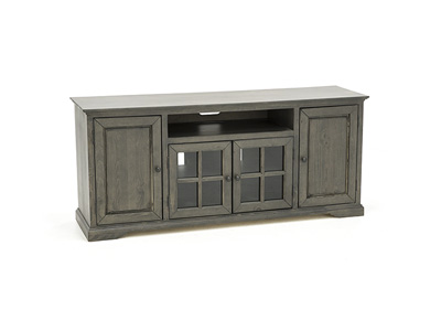 "Hamilton 74"" Storm Grey Entertainment Console"