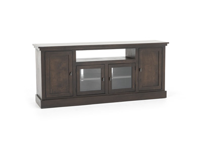 "Robin 74"" Cafe Brown Console"