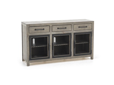 "Scottsdale Mushroom 60"" Entertainment Console"