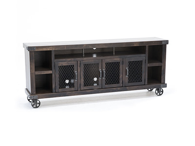 "Industrial Tobacco 84"" console"