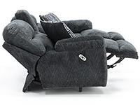 Benjamin Power Reclining Console Loveseat