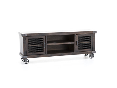 "Industrial Tobacco 74"" Entertainment Console"