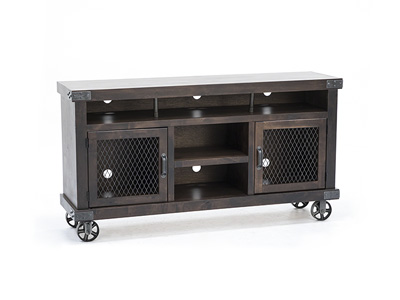 "Industrial Tobacco 65"" Entertainment Console"