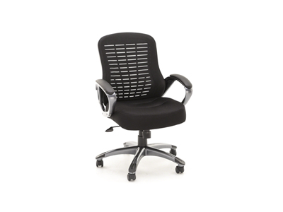 Ribbed High Back Mesh Chair