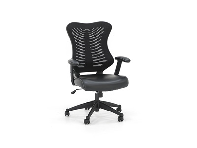 Black Mesh Executive Swivel Chair