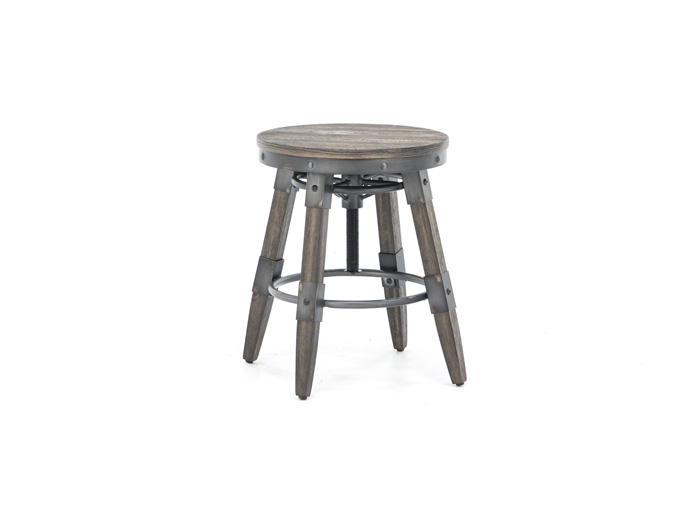 Pineville Adjustable Height Desk Stool