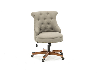 Sinclair Dolphin Grey Office Chair