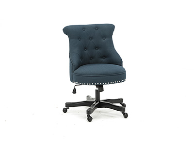 Sinclair Azure Blue Office Chair