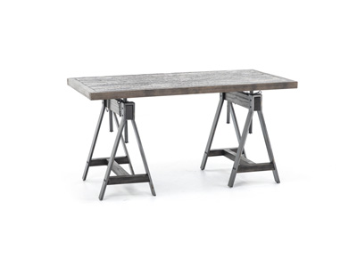 Pineville Adjustable Height Writing Desk