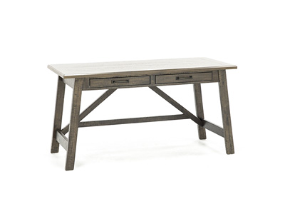 Asher Grey Brown Desk