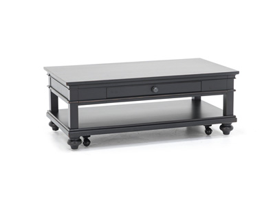 Oxford Black Cocktail Table